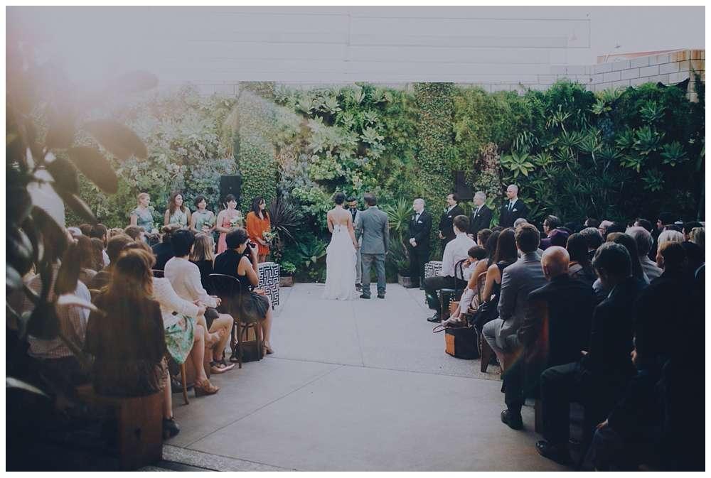 smog shoppe wedding in Los Angeles