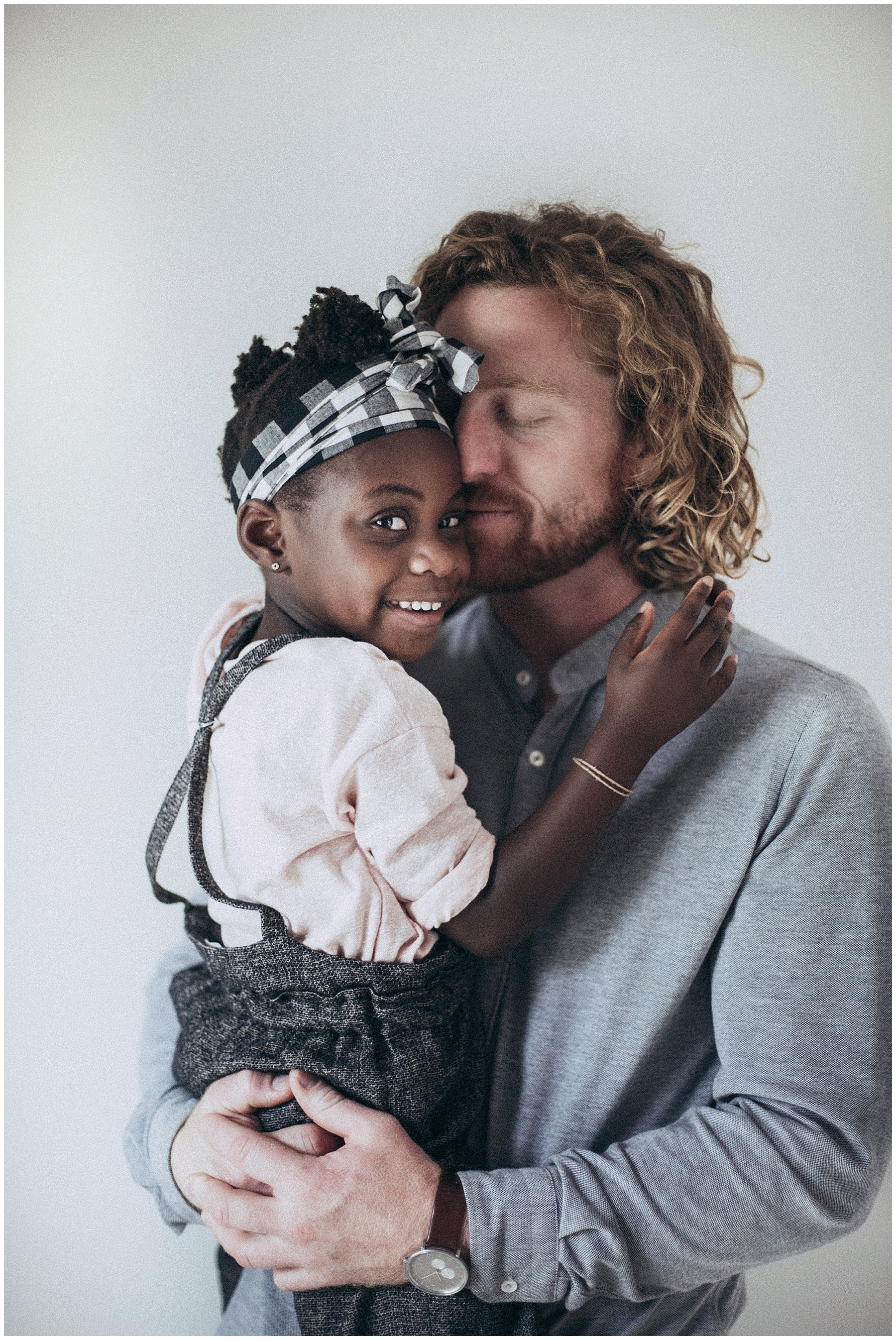 black daughter white dad blended family
