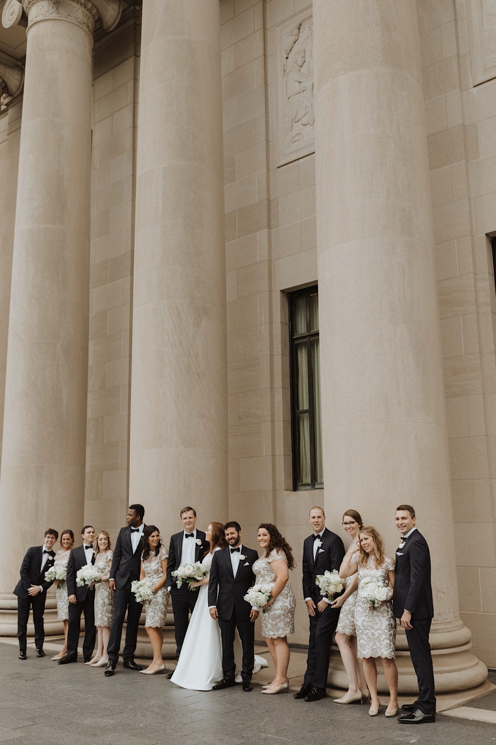 Kansas City wedding at the nelson Atkins museum