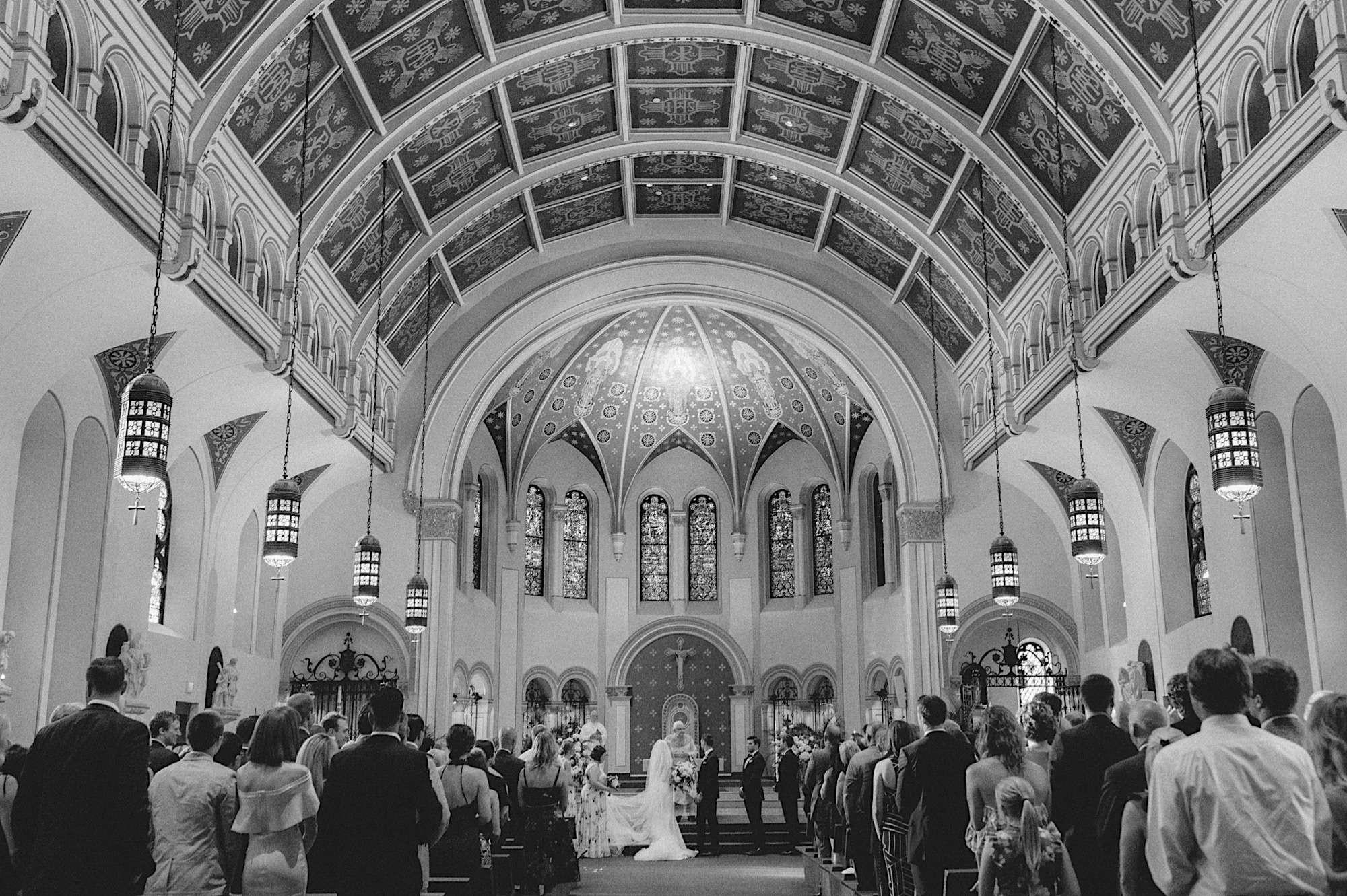 st Ambrose des moines wedding