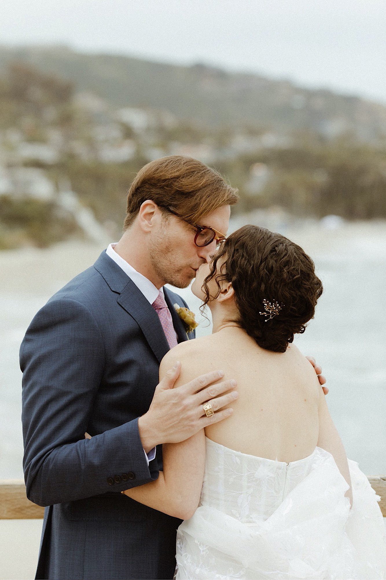 effortlessly glam montage Laguna Beach wedding