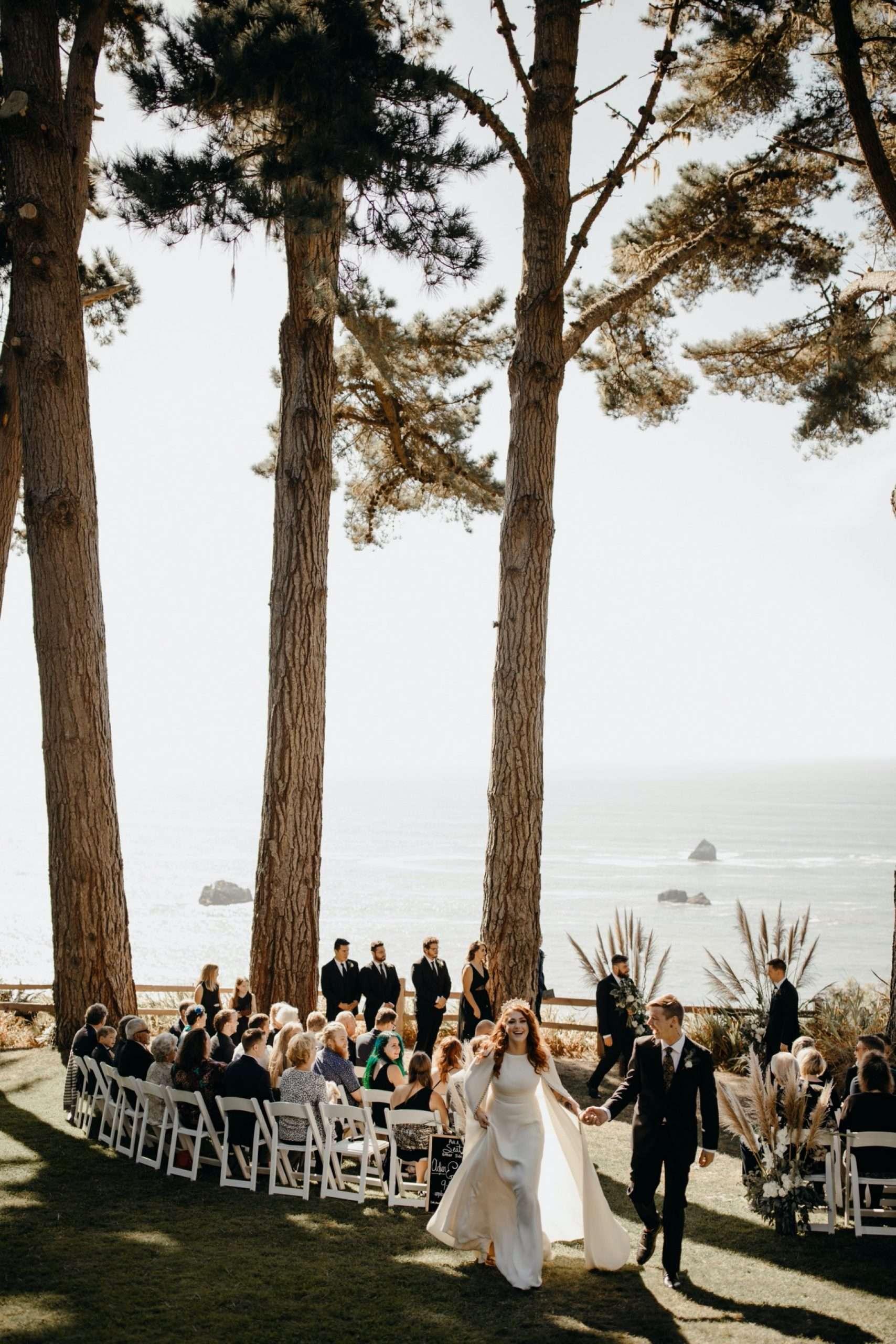 lost whale inn wedding Trinidad califonia
